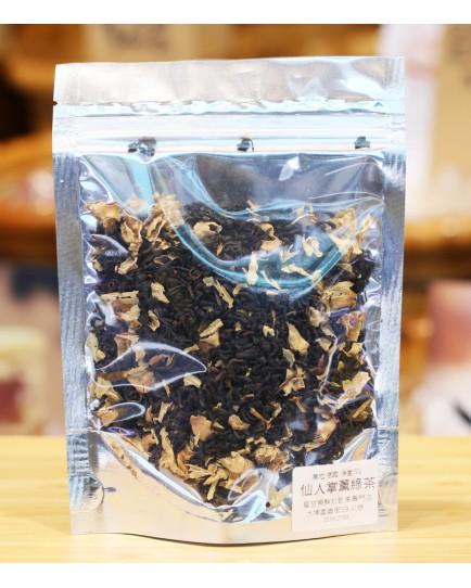 仙人掌薰綠茶